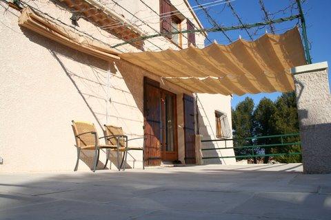 coolfit store bateau horizontal pergola incl syst me coulissant. Black Bedroom Furniture Sets. Home Design Ideas