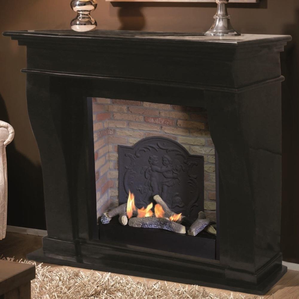 kreta manteau de chemin e d coratif pierre naturelle. Black Bedroom Furniture Sets. Home Design Ideas