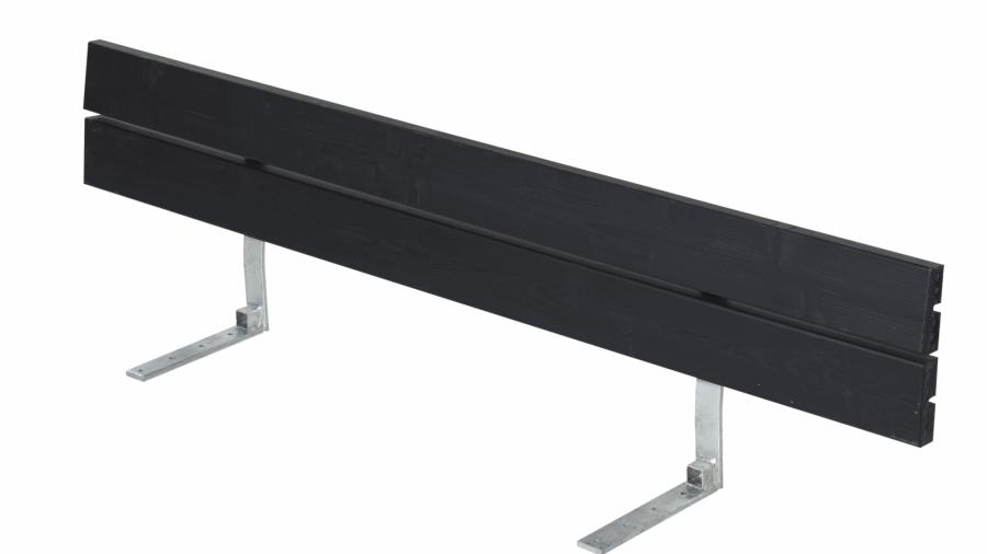 Plank dossier pour banc de jardin en bois 166cm - Banc en bois sans dossier ...