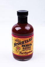 American Stockyard BBQ sauce - Red Raspberry  - sauce barbecue