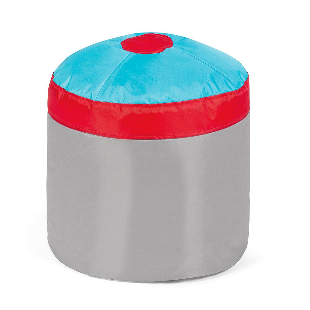 free pushbag cupcake pouf poire pour les enfants ensemble pices with pouf poire turquoise. Black Bedroom Furniture Sets. Home Design Ideas