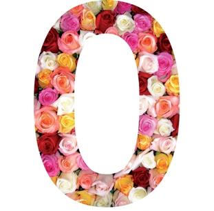 roses sticker chiffre pour la maison poubelle boite aux. Black Bedroom Furniture Sets. Home Design Ideas