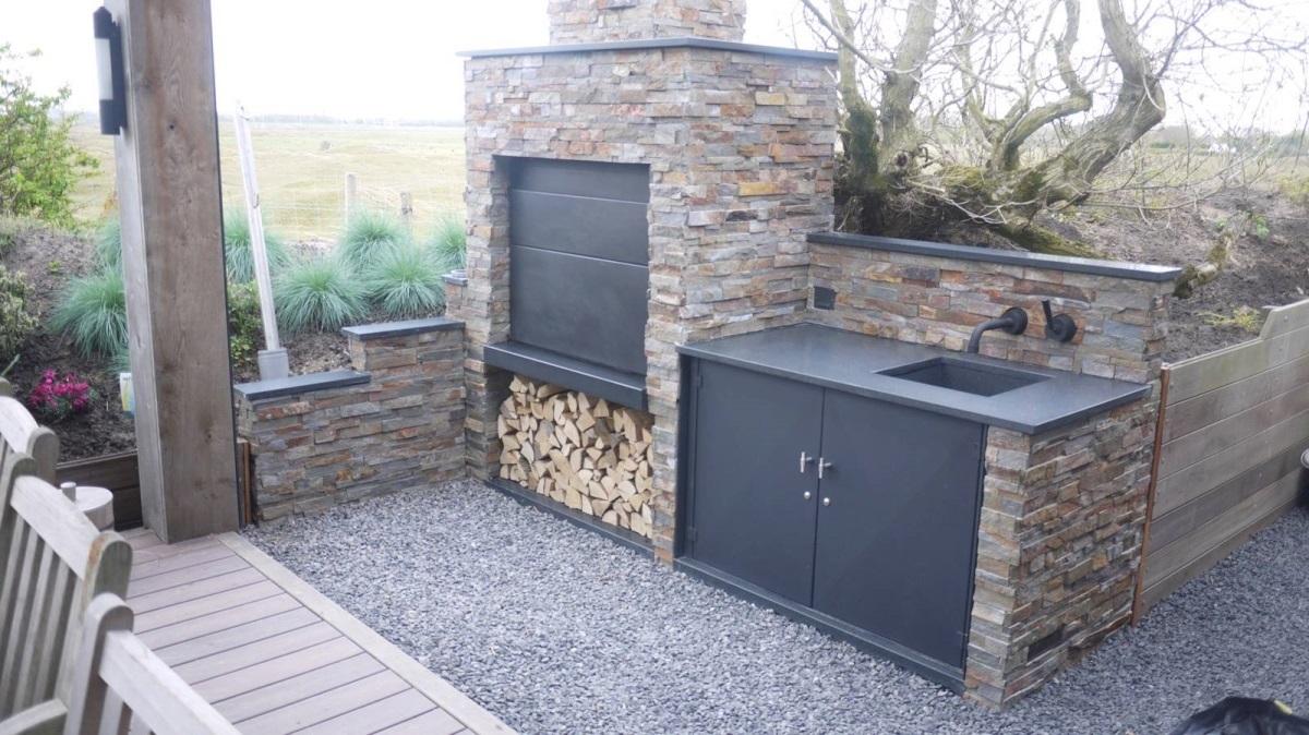 braai barbecue bois sud africain bi1000 encastrable. Black Bedroom Furniture Sets. Home Design Ideas