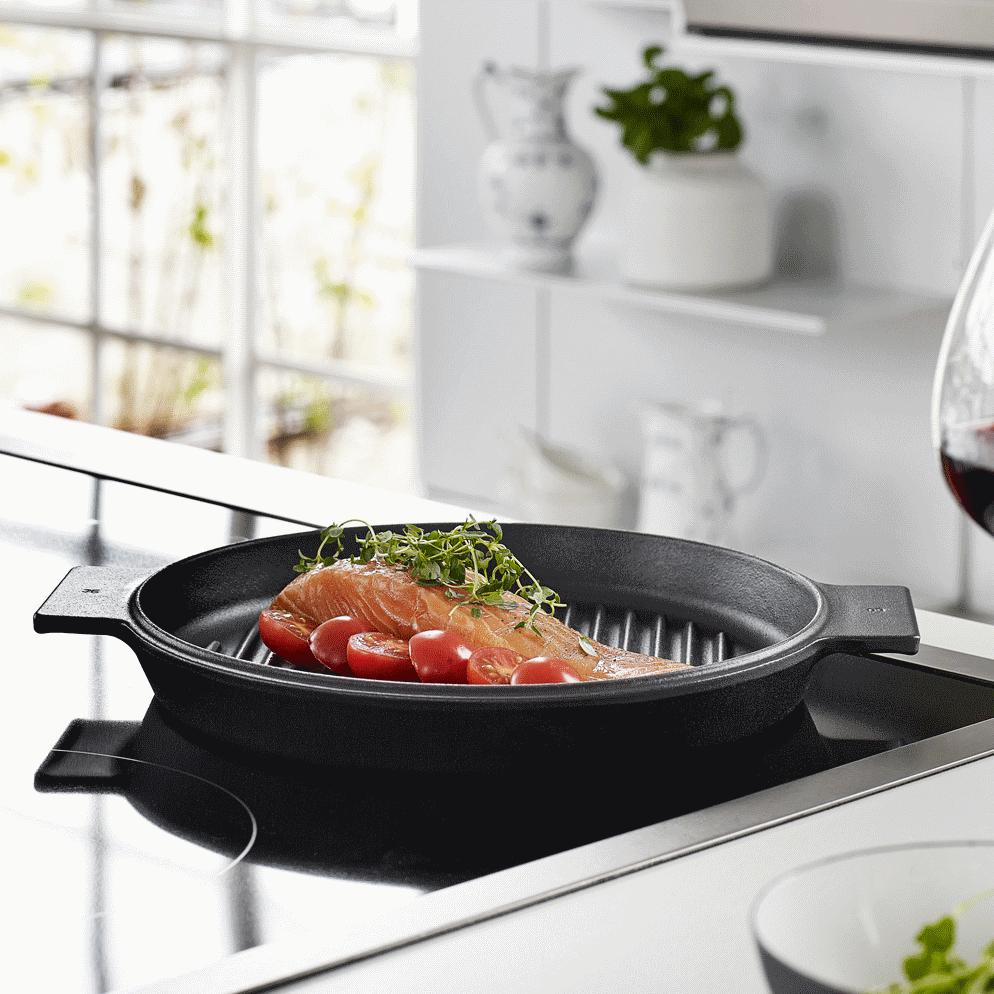 morso grill cocotte en fonte pour po le bbq four et induction. Black Bedroom Furniture Sets. Home Design Ideas