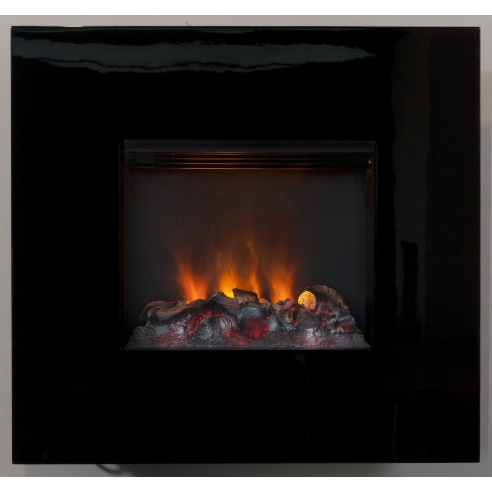 nissum opti myst electric wall mounted fire with 3d flame effect. Black Bedroom Furniture Sets. Home Design Ideas