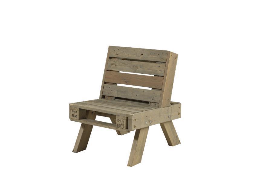 Ensemble de jardin en palette fauteuil petite table basse - Fauteuil de jardin en bois de palette ...