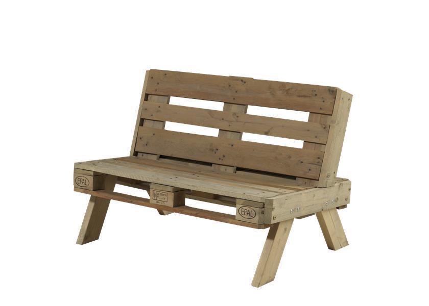 canap de jardin en palette en bois ForCanape En Palette De Bois