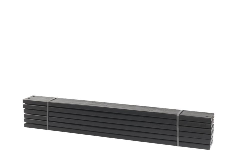 Lame planche bois autoclave 120cm pour jardini re potager pipe for Planche bois noir