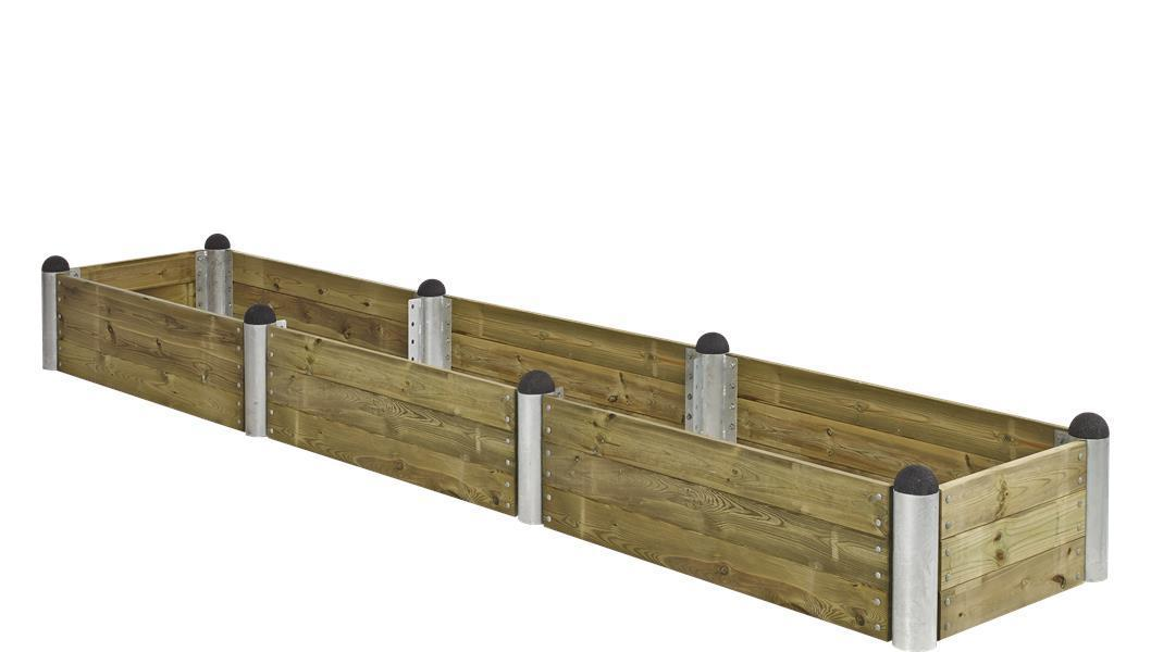 Lame planche bois autoclave 120cm pour jardini re potager pipe for Planche potager