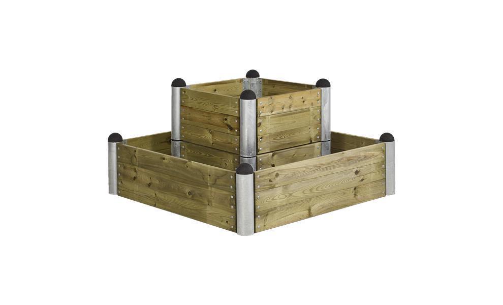 Lameplanche bois autoclave 120cm pour jardinièrepotager PIPE ~ Lame De Bois Autoclave