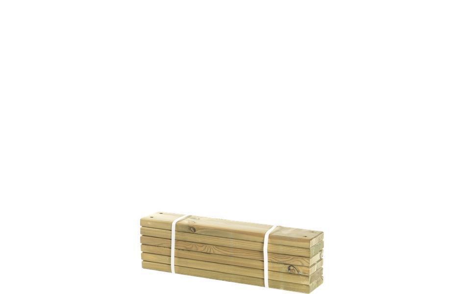 Lameplanche bois autoclave 60cm pour jardinièrepotager PIPE ~ Lame De Bois Autoclave