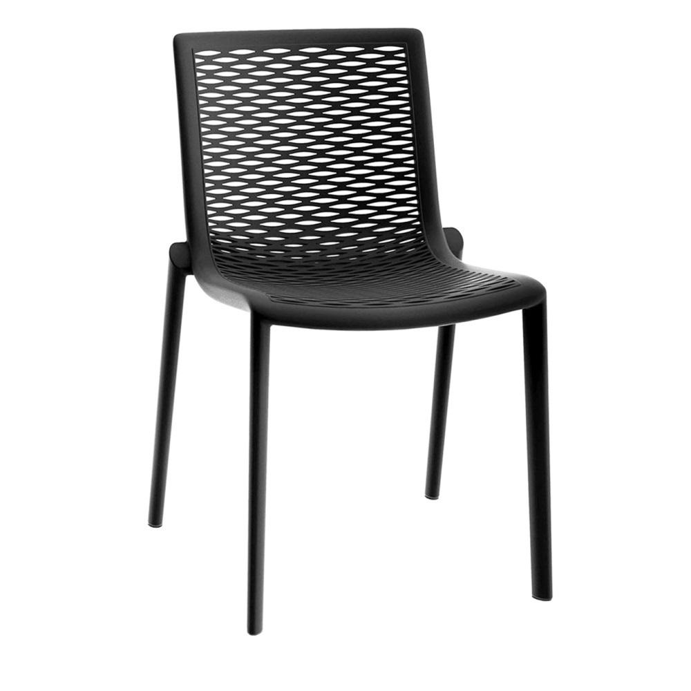 NETKAT Chaise De Jardin Empilable