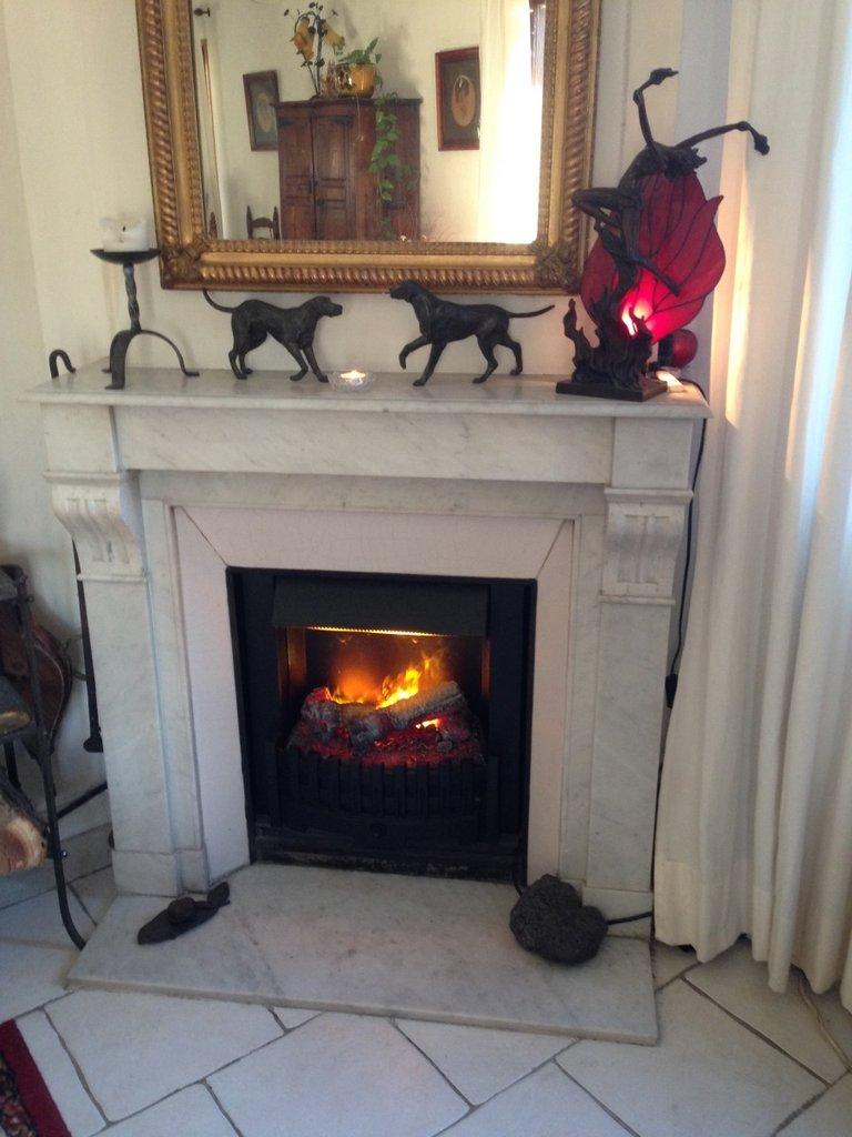 danville niva bronze insert lectrique opti myst pour chemin e. Black Bedroom Furniture Sets. Home Design Ideas