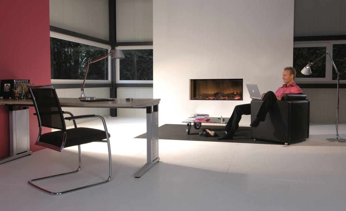 Grand Foyer Electrique : Optiflame� vega insert foyer �lectrique vitr� encastrable