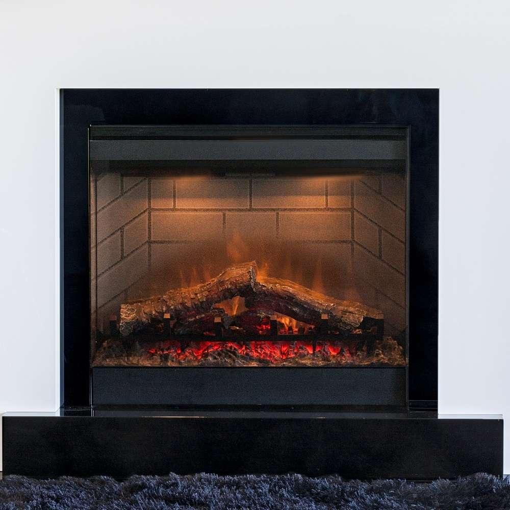 Opti Flame Firebox 650 Electric Insert Realistic Flame Effect # Foyer Electric