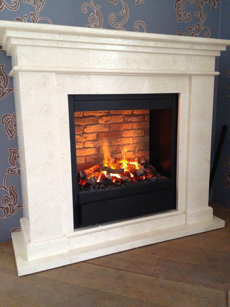 insert lectrique mystic fires mf1610h avec fond en verre noir lm30 lifestyle. Black Bedroom Furniture Sets. Home Design Ideas