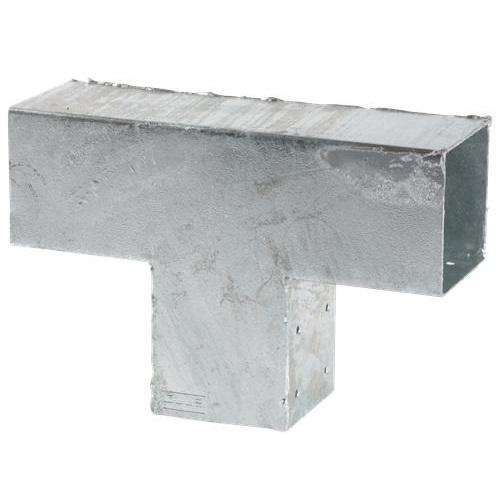 cubic platine connecteur t pour poteaux bois 9x9. Black Bedroom Furniture Sets. Home Design Ideas