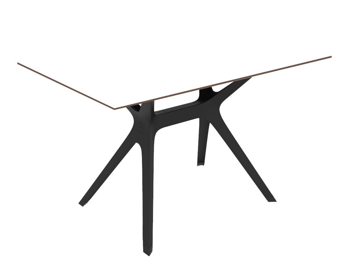 beautiful table de jardin plateau verre noir images amazing house design. Black Bedroom Furniture Sets. Home Design Ideas