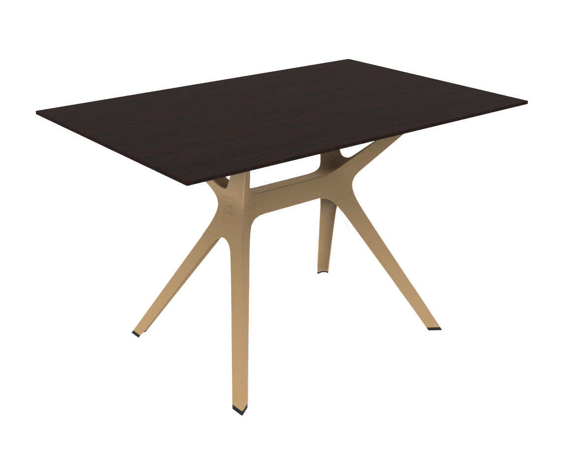 Vela m table de jardin avec plateau 120x80cm en verre for Plateau pour table de jardin