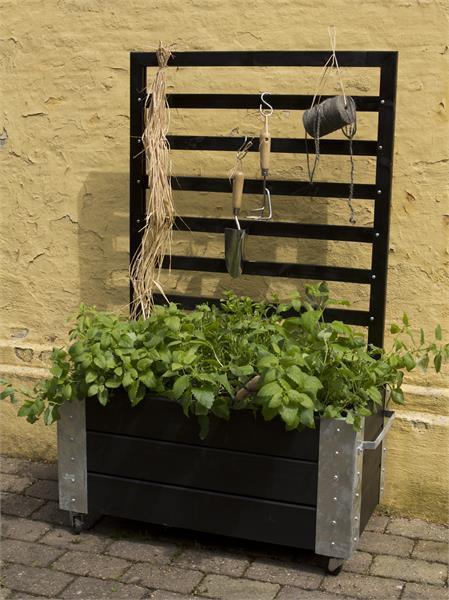 cubic jardini re design rectangulair avec treillis sur. Black Bedroom Furniture Sets. Home Design Ideas