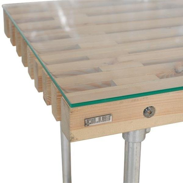 plateau de table 78x49 cm en verre tremp 6mm. Black Bedroom Furniture Sets. Home Design Ideas