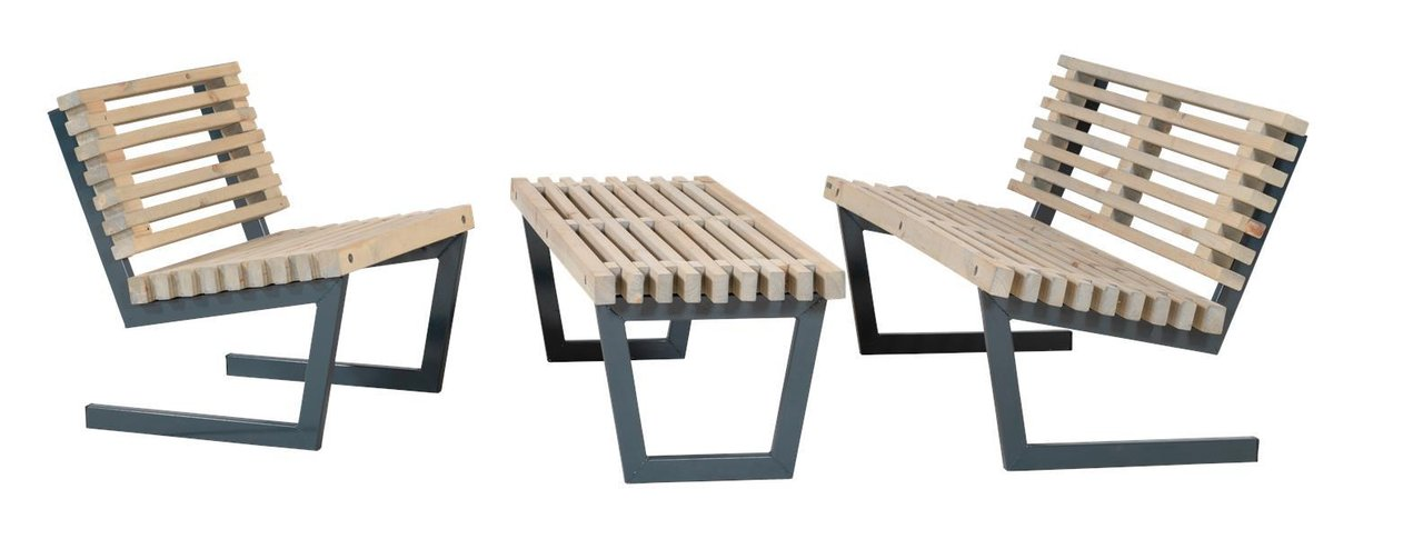 Siesta  Cm Design Bench Or Low Garden Table OutdoorIndoor