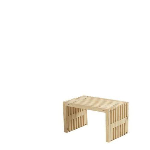 trendy banc en bois design lattes cm disponible en coloris with banc de jardin en bois flott. Black Bedroom Furniture Sets. Home Design Ideas
