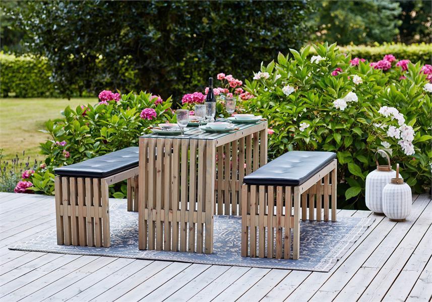 Emejing Table Et Banc De Jardin Design Photos - Amazing House ...