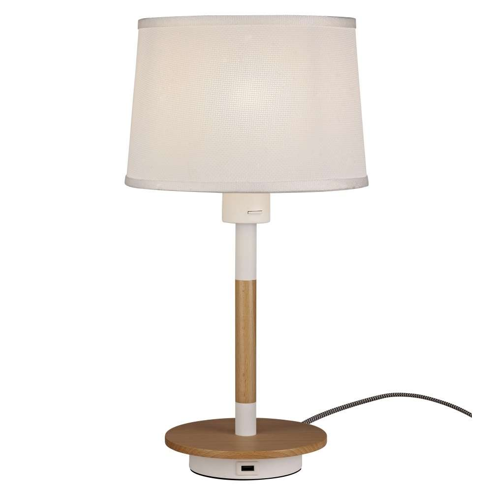 Table Lamp With Usb Port Diy