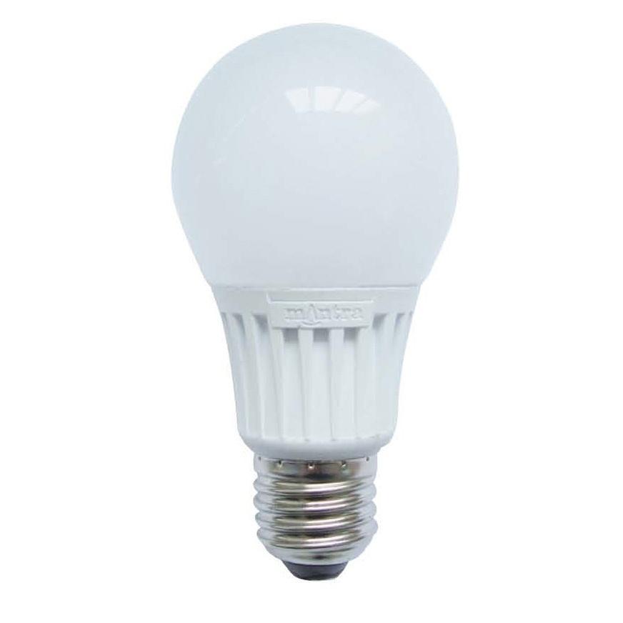 mantra ampoule led e27 8w 5000k 823lm 220 240v. Black Bedroom Furniture Sets. Home Design Ideas