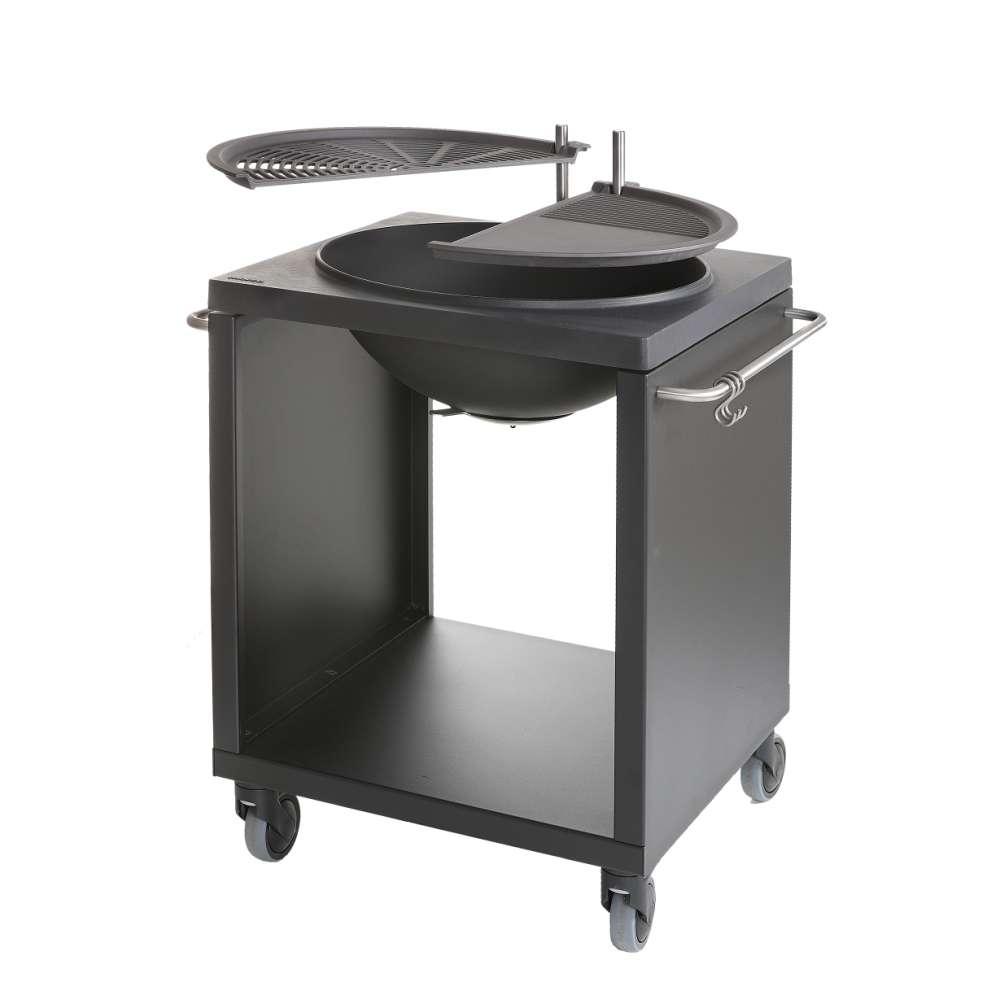 Plancha brasero barbecue plancha ofyr table brasero plancha starlight plancha essentielb - Grille barbecue castorama ...
