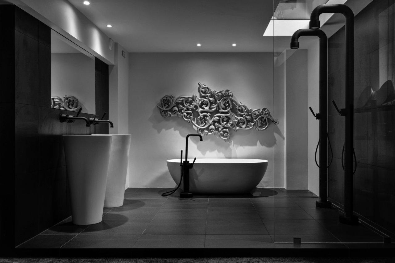 Soho bath design by jee o vrijstaande badkraan rvs met for Architecture jee