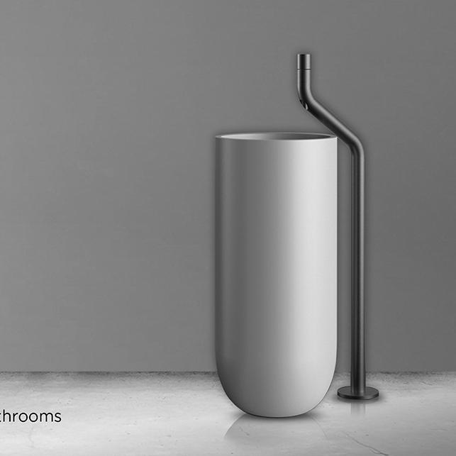 jee o flow colonne de douche avec douchette design en inox. Black Bedroom Furniture Sets. Home Design Ideas