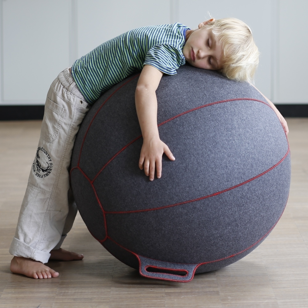 velt par vluv pouf siège ballon de gym ballon pilates ou fitness