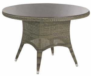 4 seasons outdoor mobilier de jardin pour les 4 saisons - Table ronde resine tressee ...