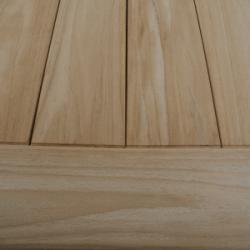 Casa table de jardin en teck recyclé de haute qualité