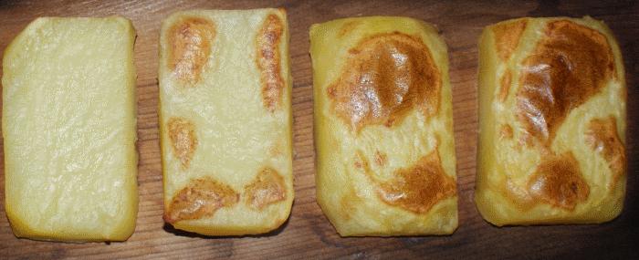 Pommes de terre à la planche de cèdre