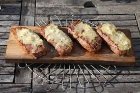 entrecote gorgonzola a la planche de cedre