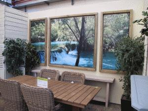 brise vue d coratif pour le jardin tenue d 39 jardin. Black Bedroom Furniture Sets. Home Design Ideas
