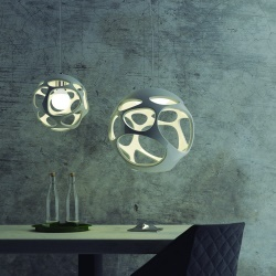 Mantra ORGANICA - lustre, lamp de table, plafonnier, surprenant et magique 2 lustres