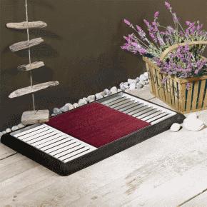 paillasson design et moderne pour l 39 ext rieur tenue d 39 jardin. Black Bedroom Furniture Sets. Home Design Ideas