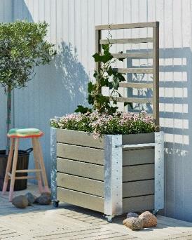 jardini res bordures et potager design rectangulaire carr ou triangulaire en bois. Black Bedroom Furniture Sets. Home Design Ideas