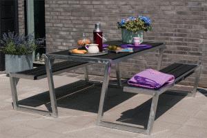 Table Avec Banc Exterieur. Affordable Beautiful Finest Table ...