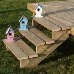 comment faire un escalier en bois pour l ext rieur ou jardin. Black Bedroom Furniture Sets. Home Design Ideas