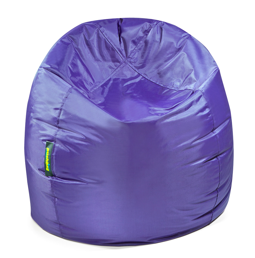 beautiful pushbag bag pouf poire forme fauteuil tissu oxford couleur mauve with fauteuil poire but. Black Bedroom Furniture Sets. Home Design Ideas