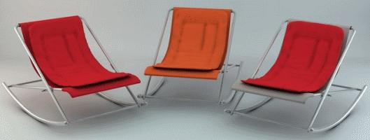 Skyliving transat et bain de soleil design for Rocking chair exterieur