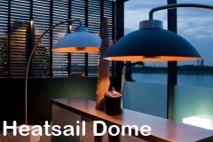 Heatsail Dome infrarood warmte lamp
