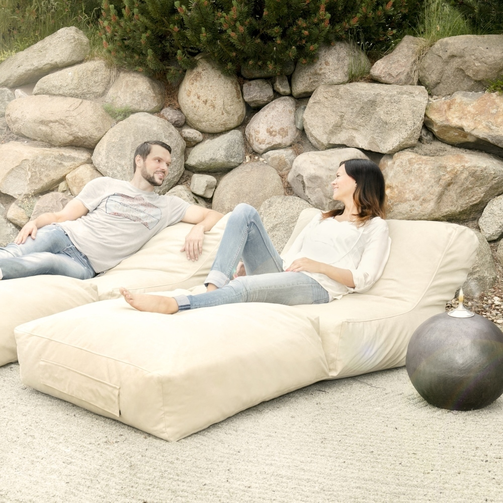 Outbag Peak outbag peak - giant beanbag sun bed lounger for indoor and outdoor