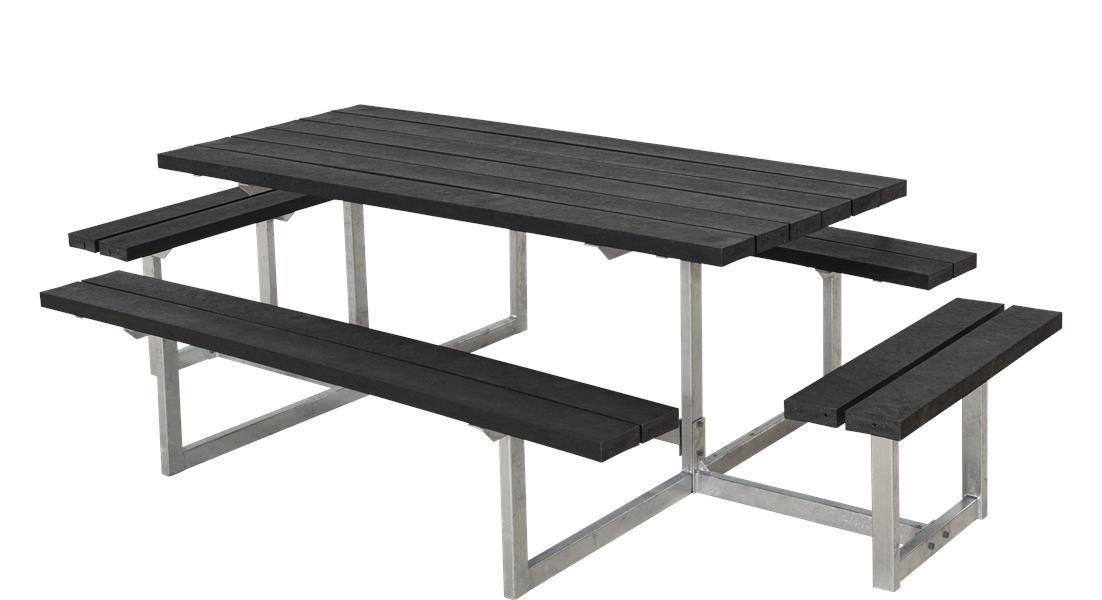 En 177x160x73cm Basic Nique Table Pique Design Bois Jardin De iTPOXZuk