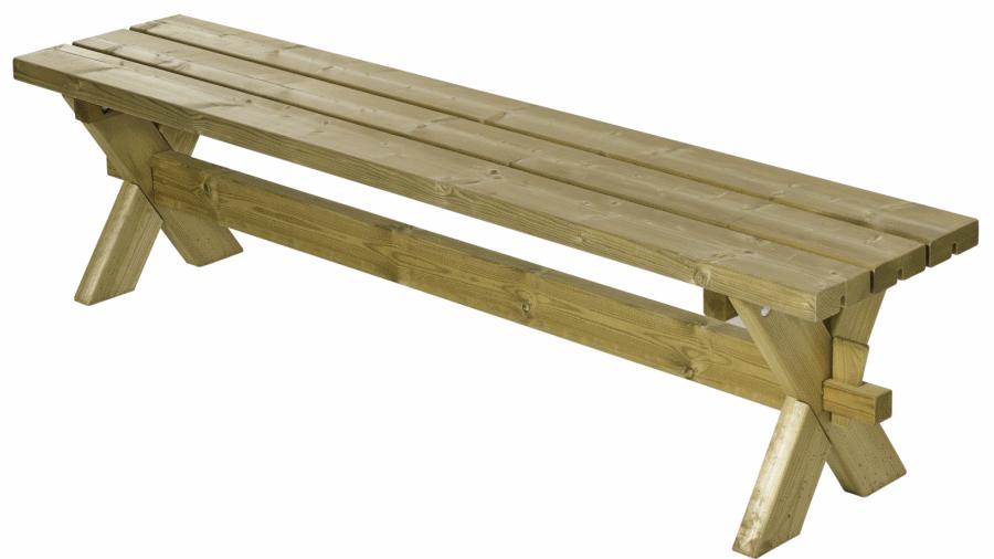 nostalgie banc de jardin pique nique bois autoclave. Black Bedroom Furniture Sets. Home Design Ideas